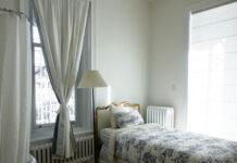 jaki kolor ścian do białych mebli w sypialni