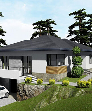 Budowa domu na skarpie